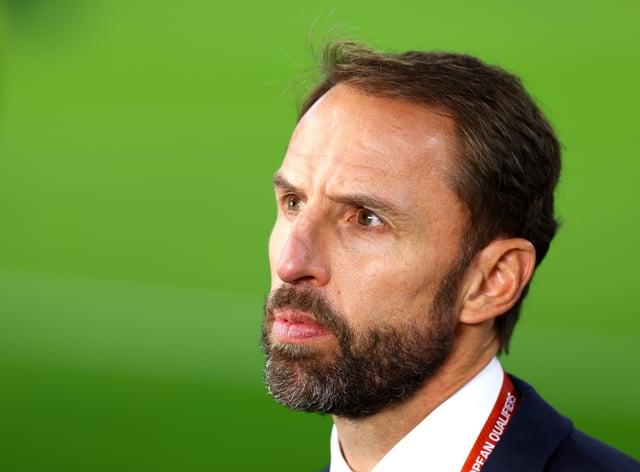 Gareth Southgate is planning for Poland (Attila Trenka/PA)