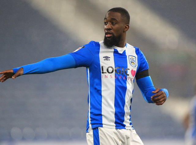 Isaac Mbenza has agreed to terminate his contract at Huddersfield with immediate effect (Mike Egerton/PA)