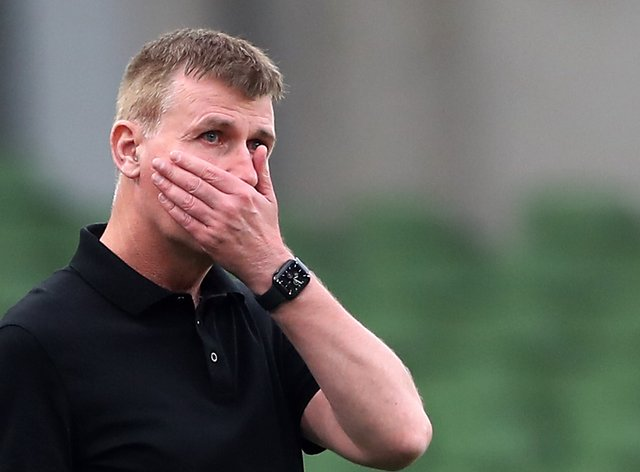 Republic of Ireland manager Stephen Kenny has endured a difficult start to his reign (Niall Carson/PA)