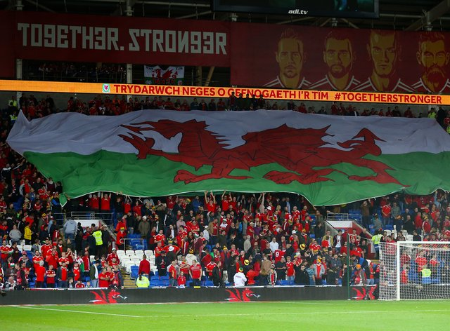 Wales fans from the South Asian community will be at the Cardiff City Stadium on Wednesday for the World Cup qualifier against Estonia (Nigel French/PA)