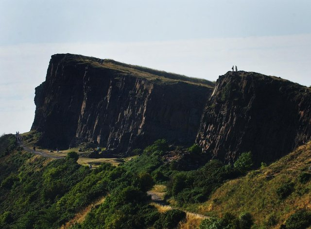 A man has been charged with murder in connection with the death of a woman who fell from Arthur's Seat (Andrew Milligan/PA)