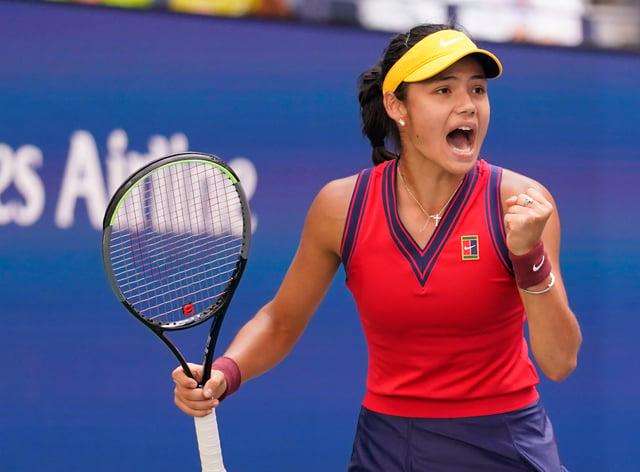 Emma Raducanu was a winner again in New York (Seth Wenig/AP)