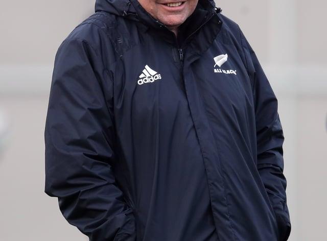 New Zealand's 2015 World Cup winning coach Steve Hansen is an ambassador for World 12s