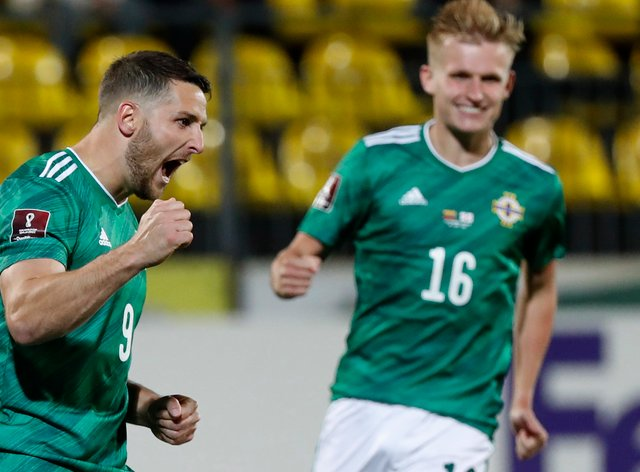 Northern Ireland must try to build on Thursday's win over Lithuania when Switzerland visit on Wednesday (Mindaugas Kulbis/AP)