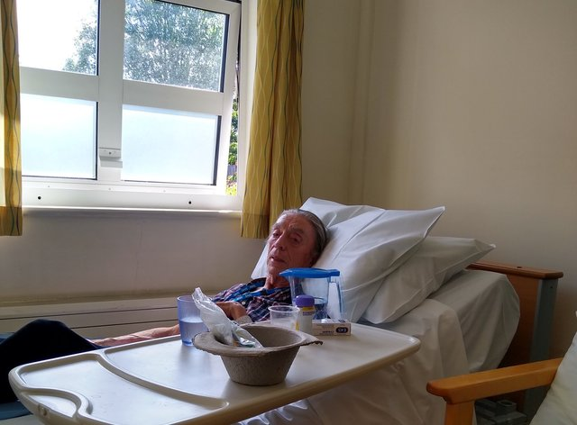 David Gunson, 75, faces losing his home (Ann Baker/PA)