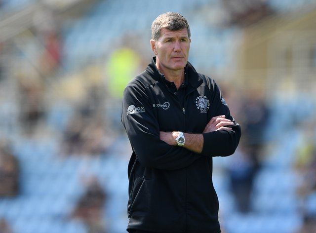 Exeter rugby director Rob Baxter (Simon Galloway/PA)