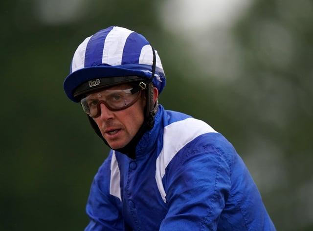 Jim Crowley had a fall at Doncaster (Tim Goode/PA)