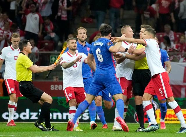 Tempers boiled over in Poland (Czarek Sokolowski/AP)