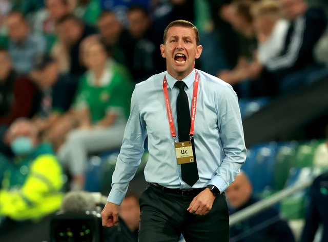 Ian Baraclough has seen several young Northern Ireland players stake their claim to more regular playing time (Niall Carson/PA)