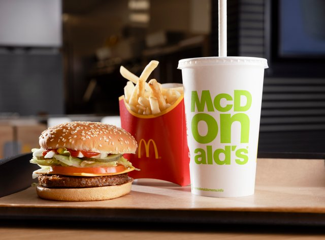 McDonald's has launched its vegan McPlant burger in the UK and Ireland (McDonald's/PA)