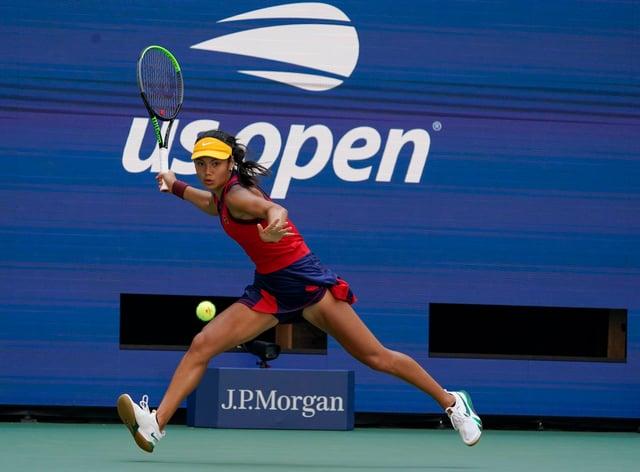 Emma Raducanu has been tipped to transcend tennis (AP Photo/Elise Amendola)
