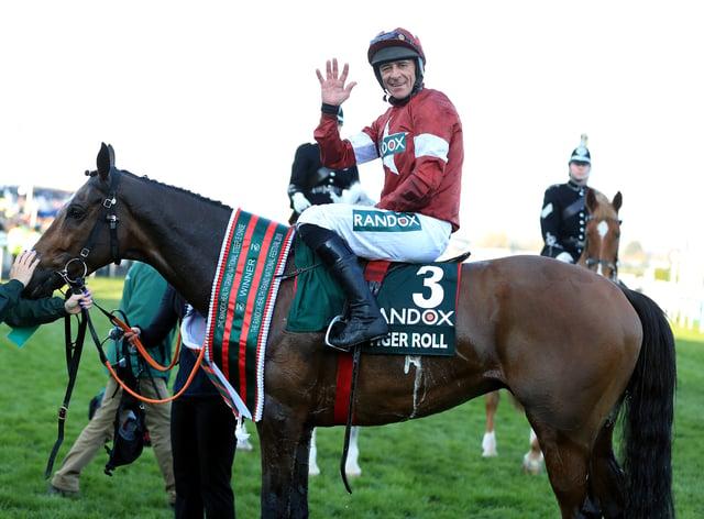 Dual Grand National-winning jockey Davy Russell is set to return from injury at Downpatrick next week (Mike Egerton/PA)