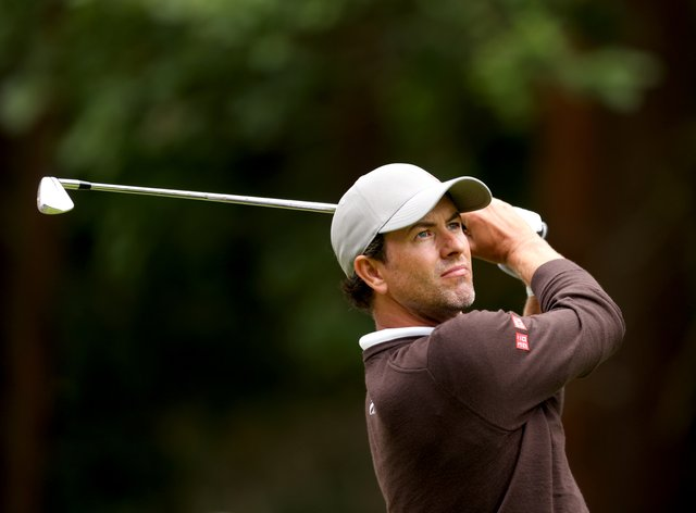 Adam Scott carded an opening 65 on his first start in the BMW PGA Championship at Wentworth since 2006 (Steven Paston/PA)