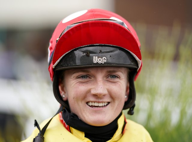Hollie Doyle has her first St Leger ride (Alan Crowhurst/PA)