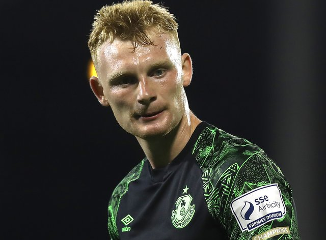 Liam Scales joined Celtic from Shamrock Rovers (Lorraine O'Sullivan/PA)