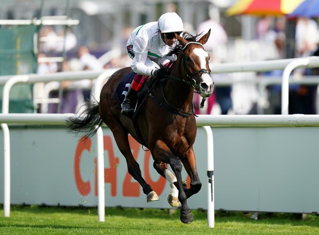 Free Wind came home alone at Doncaster (Mike Egerton/PA)