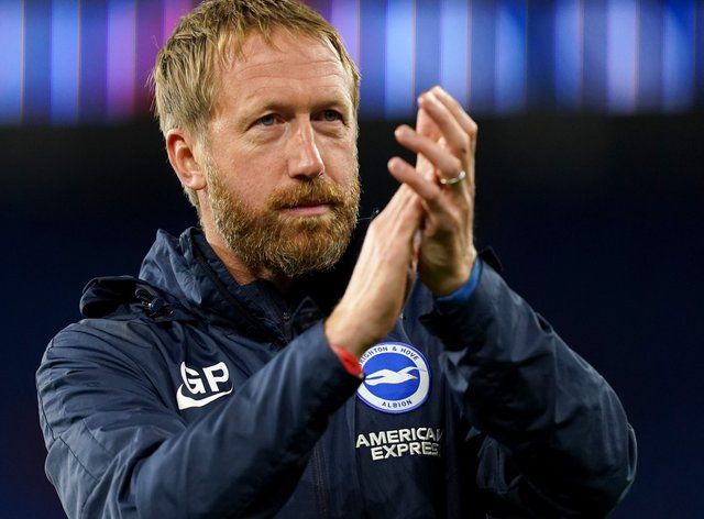 Brighton manager Graham Potter feels the squad is stronger following their summer transfer business (David Davies/PA)