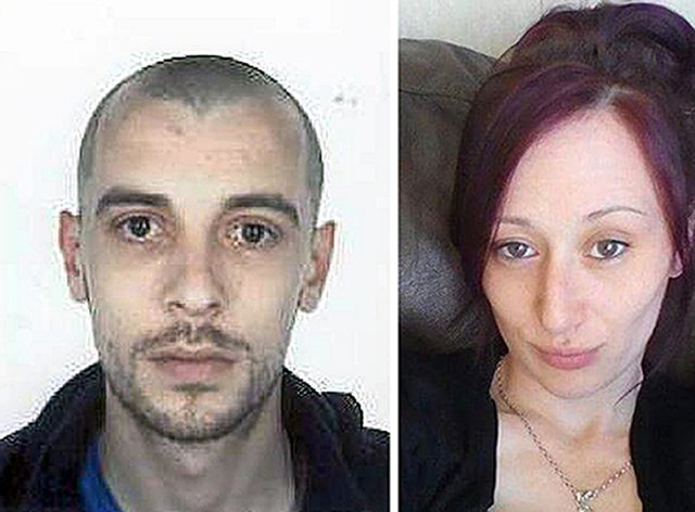 John Yuill and Lamara Bell died following the M9 crash (police Scotland)