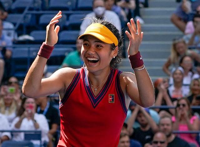Emma Raducanu has what it takes to build on her remarkable breakthrough (Elise Amendola/AP)