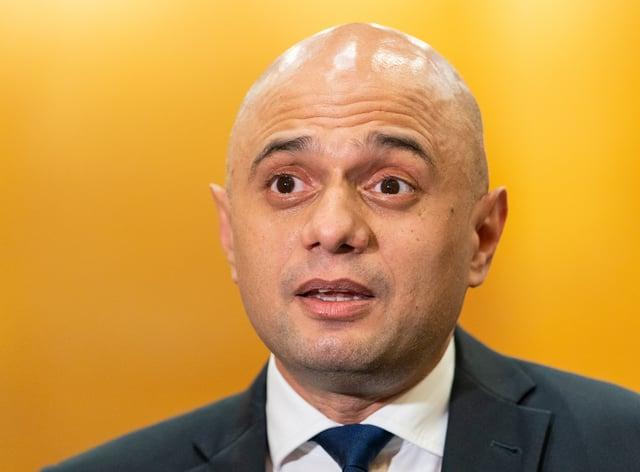 Health Secretary Sajid Javid has defended the consultation (Dominic Lipinski/PA)