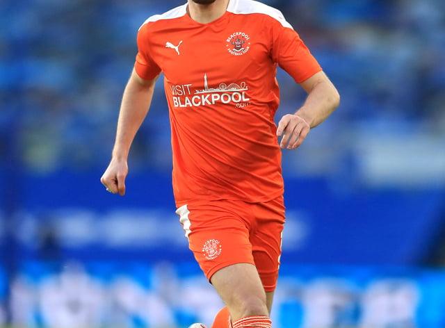 James Husband is set to return for Blackpool (PA)
