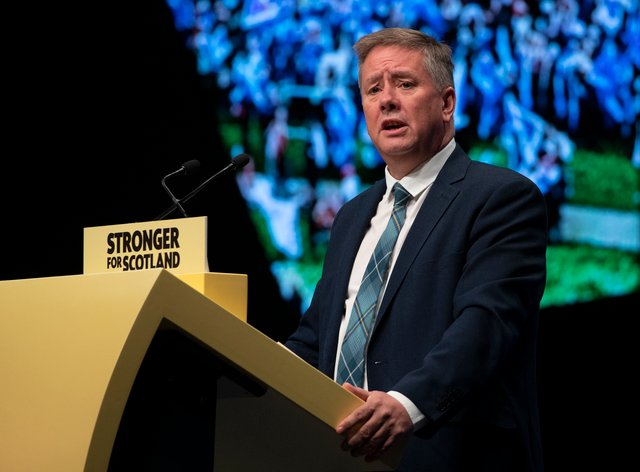 Depute leader Keith Brown will speak on the first day of the SNP conference (Jane Barlow/PA)
