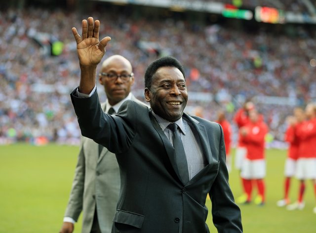 Pele is expected to leave intensive care within days after surgery (Nigel French/PA)
