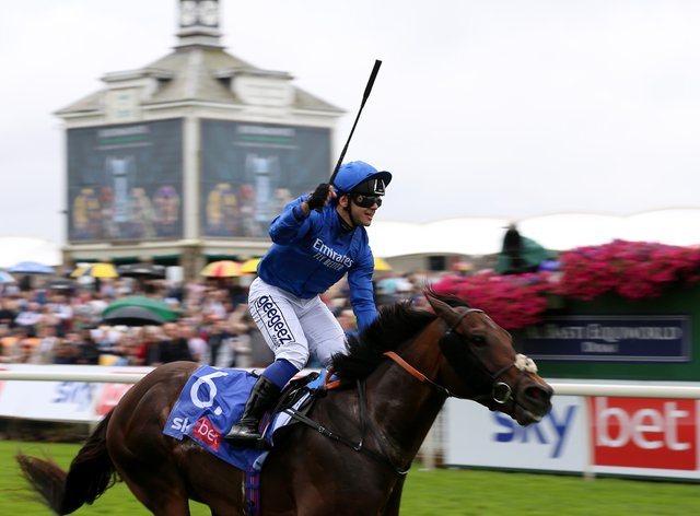 Real World ridden by Marco Ghiani (Nigel French/PA)