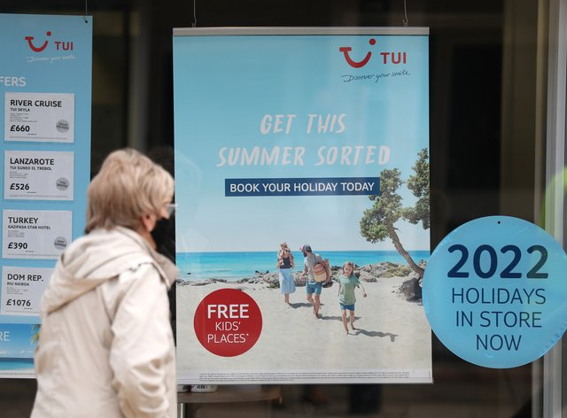 Seven out of 10 travel companies with staff on furlough plan to make redundancies once the scheme ends this month, according to a new survey (Andrew Matthews/PA)