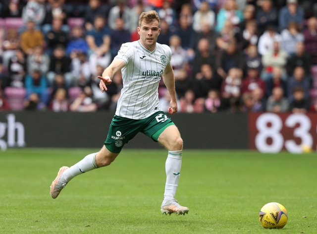 Chris Cadden was back in action at Tynecastle (Jeff Holmes/PA)