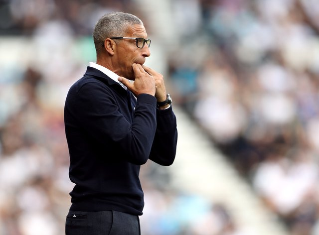 Forest boss Chris Hughton cannot yet call on two of his new signings (Bradley Colyer/PA)
