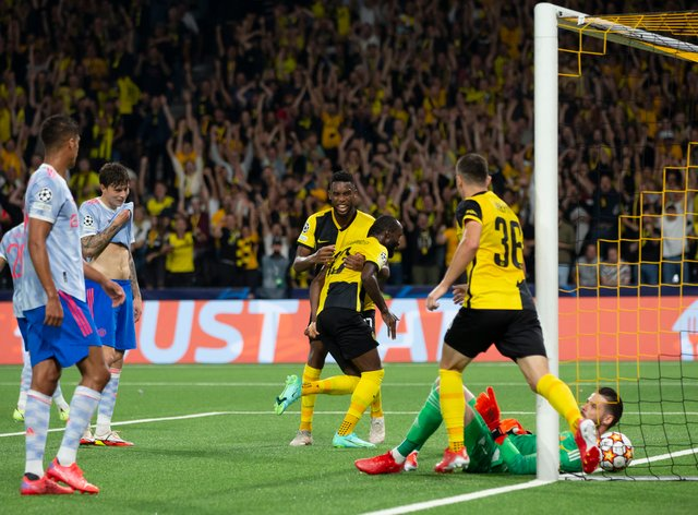 Young Boys stunned Manchester United (Peter Klaunzer/AP)