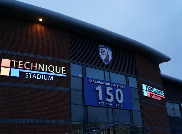 Kabongo Tshimanga scored a hat-trick to help Chesterfield beat Barnet 4-2 (Zac Goodwin/PA)