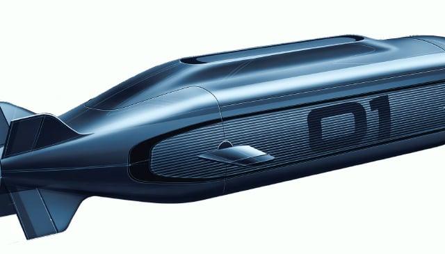 A proposed zero-emission submarine (DfT/PA)