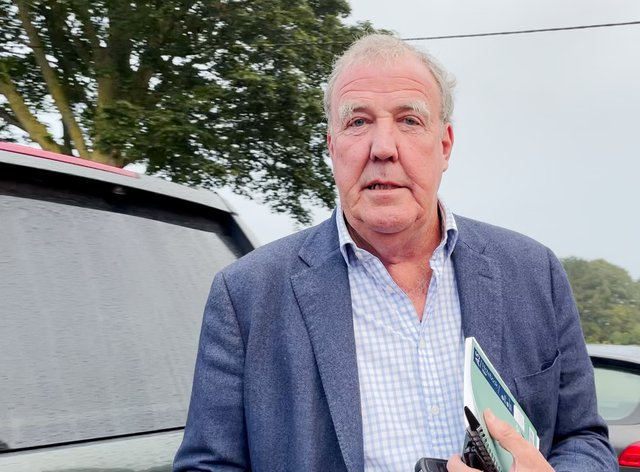 Jeremy Clarkson has spoken out on food security (PA Video/PA)