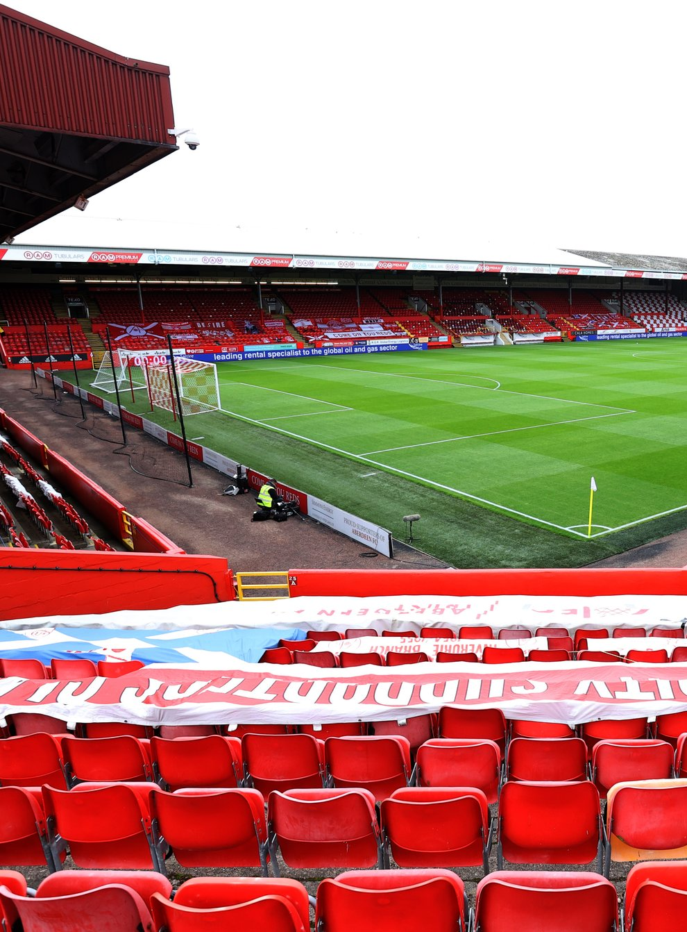 Fans will not be required to prove vaccination at Pittodrie (Jeff Holmes/PA)