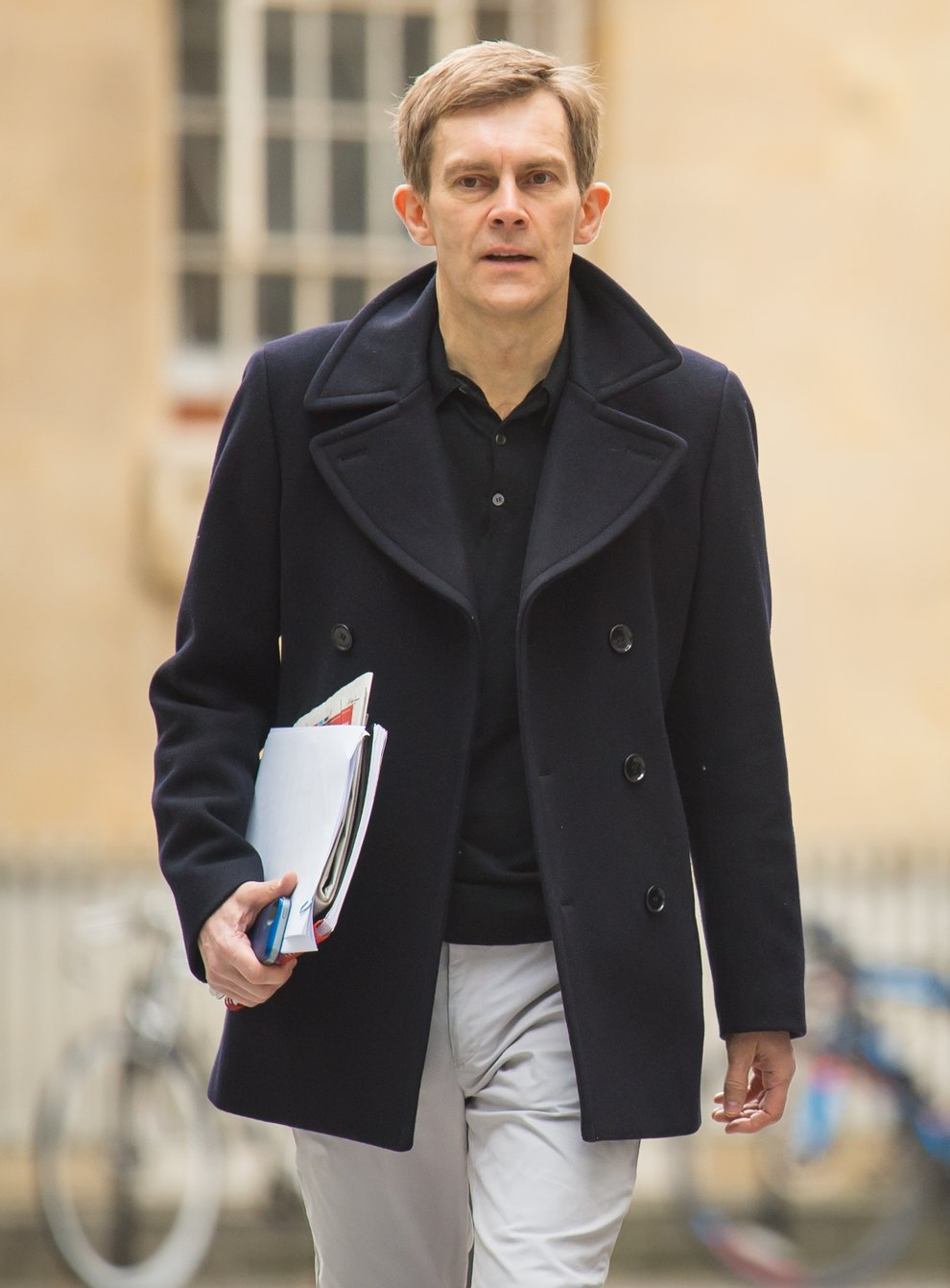 Former Labour Director of Strategy and Communications Seumas Milne is among five who have denied leaking the report (Dominic Lipinski/PA)