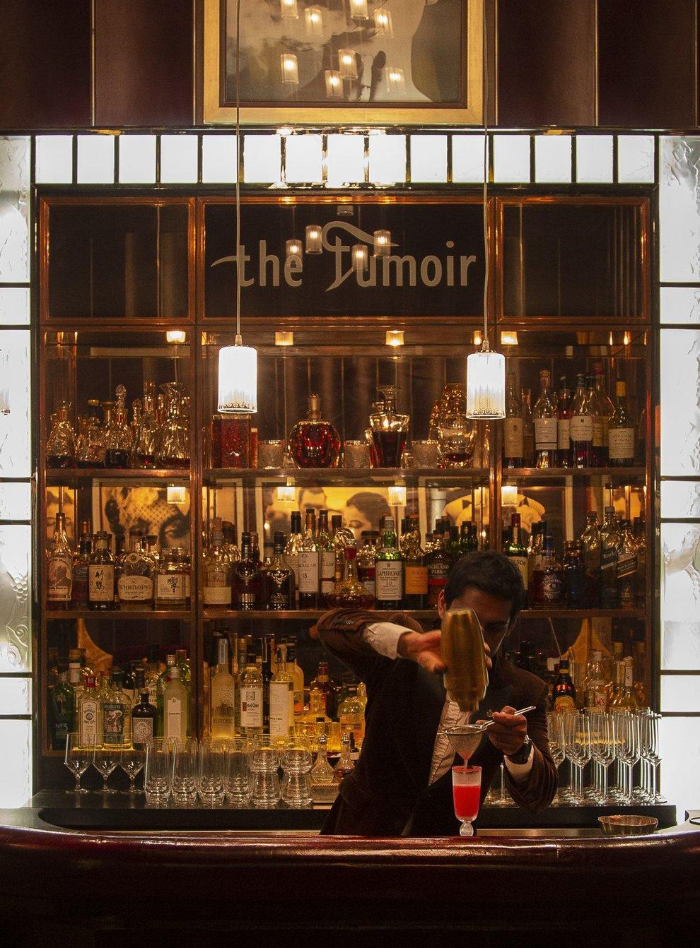 The Fumoir Bar, Claridges (John Carey/PA)