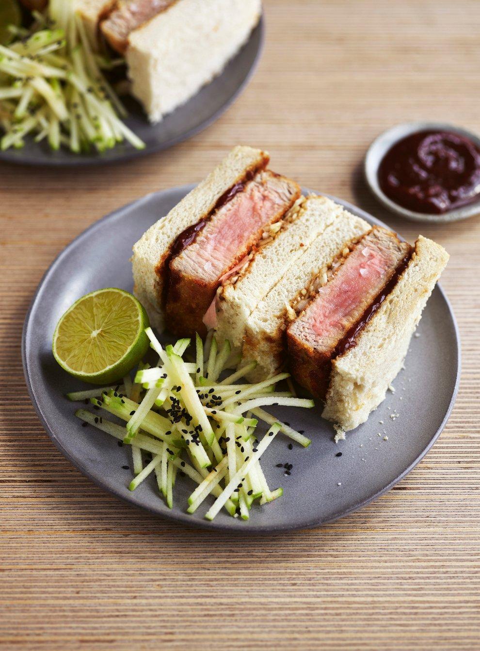 Tuna katsu sandwich (Hodder & Stoughton/Jamie Orlando-Smith/PA)