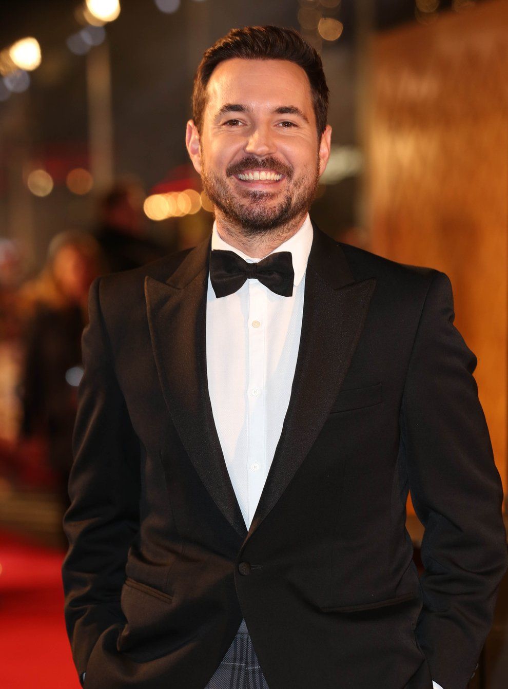 Martin Compston has been nominated for his work on Line of Duty (Isabel Infantes/PA)