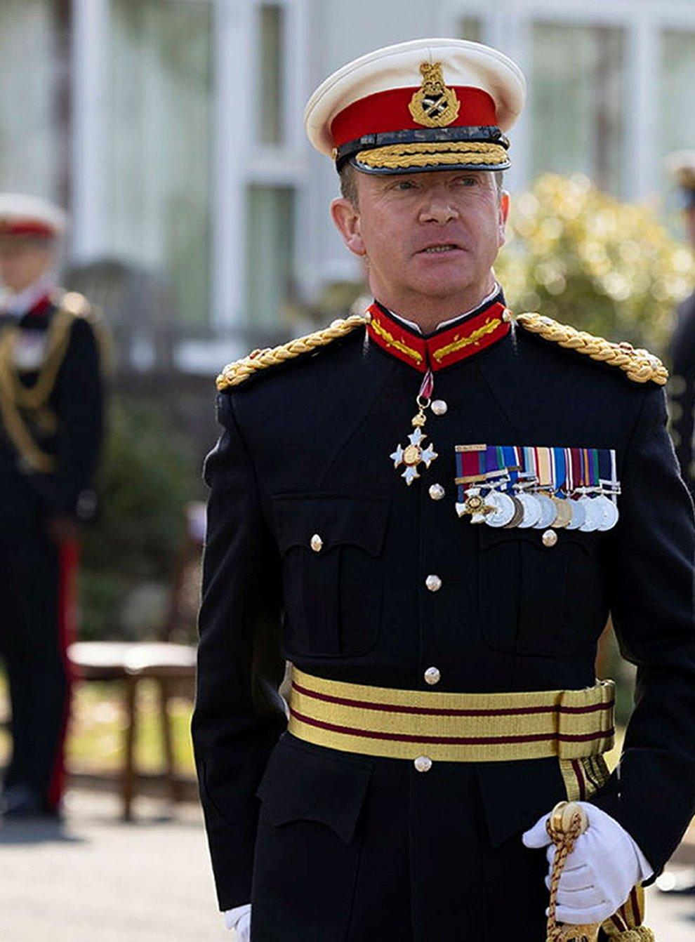 Major General Matt Holmes (LPhot Joe Cater/PA)