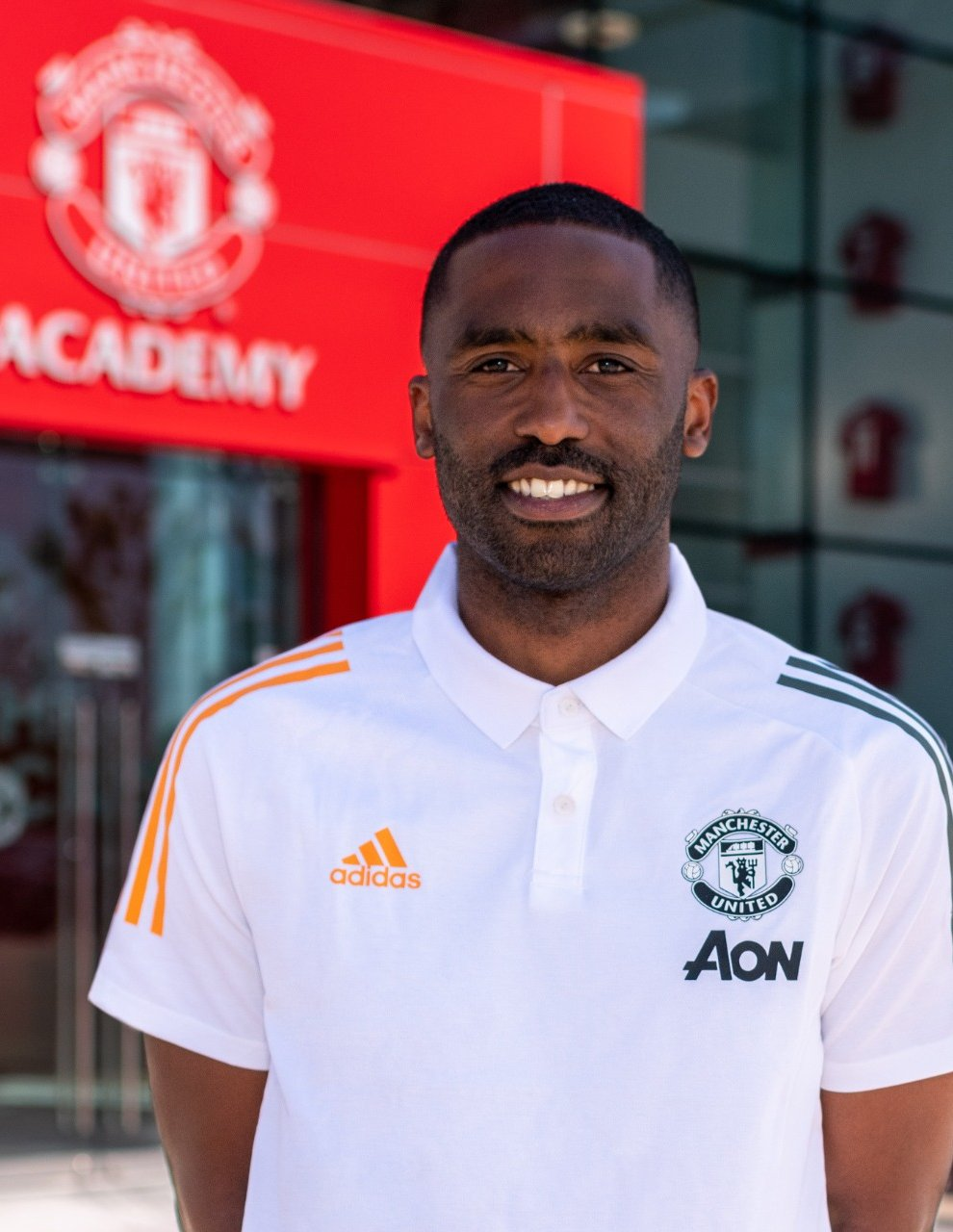 Justin Cochrane joined Manchester United in the summer (Man Utd)