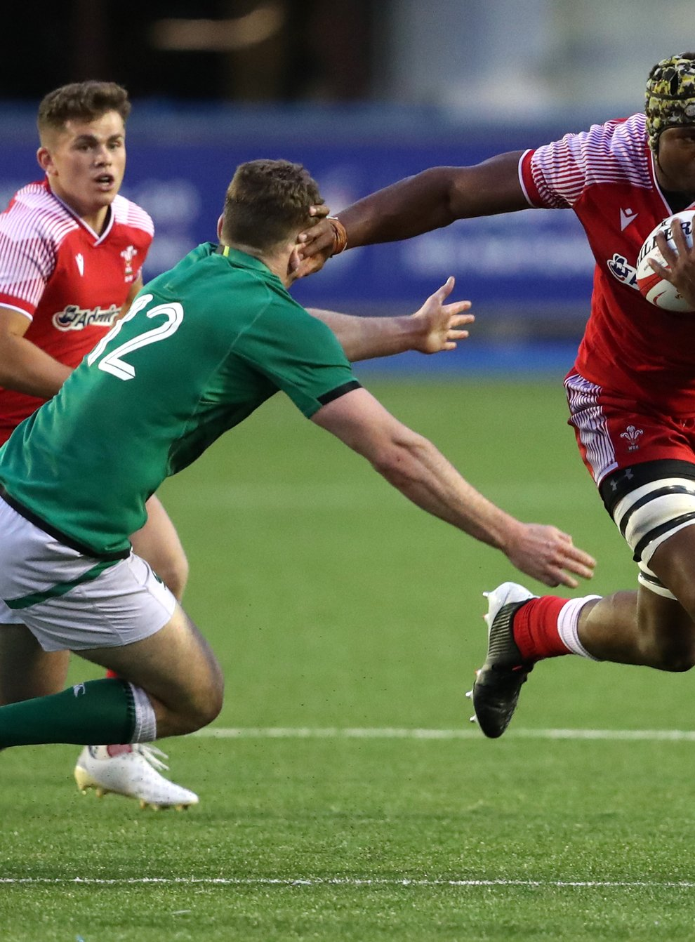 Christ Tshiunza has been called up by Wales (David Davies/PA)