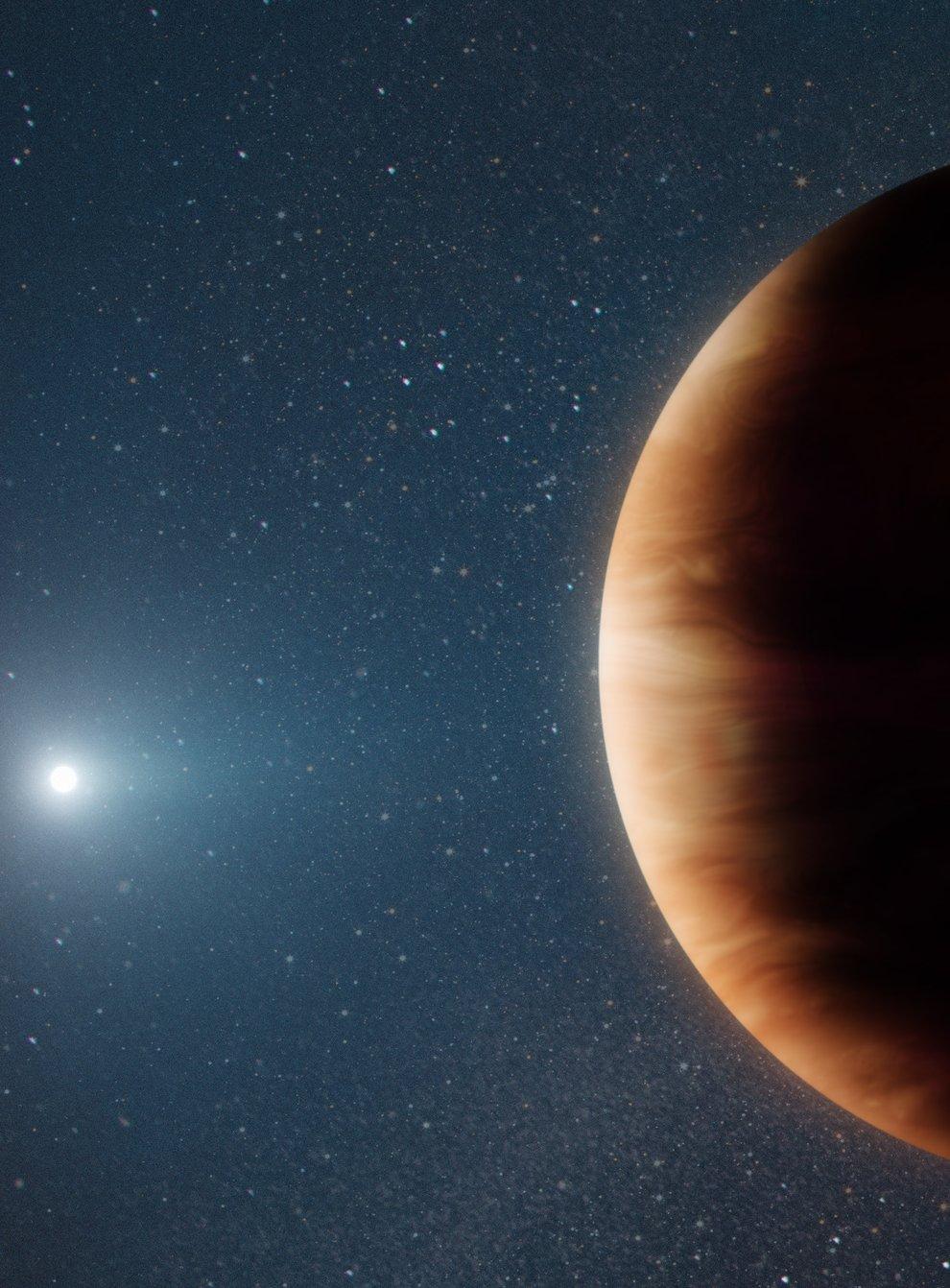 New gas giant planet found orbiting white dwarf star (W M Keck Observatory/Adam Makarenko)