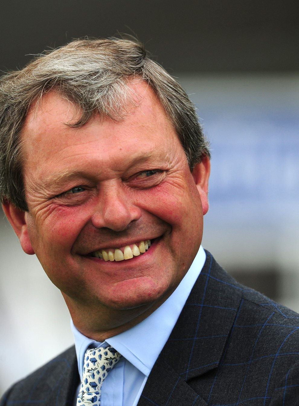 Trainer William Haggas has a strong hand on Champions Day (Anna Gowthorpe/PA)