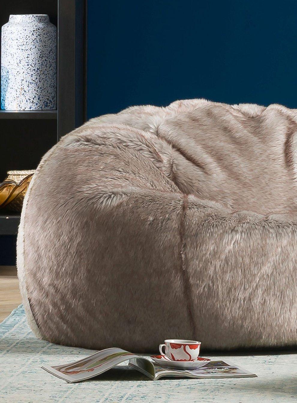 Lapin Faux Fur Bean Bag (Bean Bag Bazaar/PA)