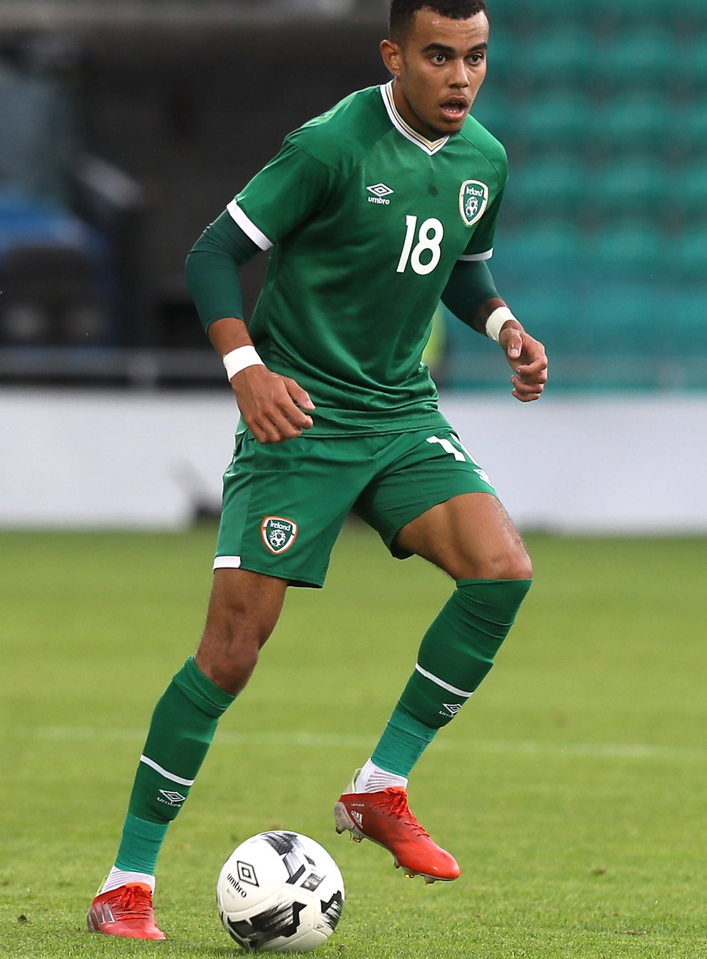 Salford's Tyreik Wright is available again after international duty with the Republic of Ireland Under-21s (Brian Lawless/PA)